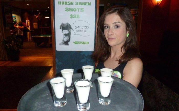 DWp horse semen drink 050711